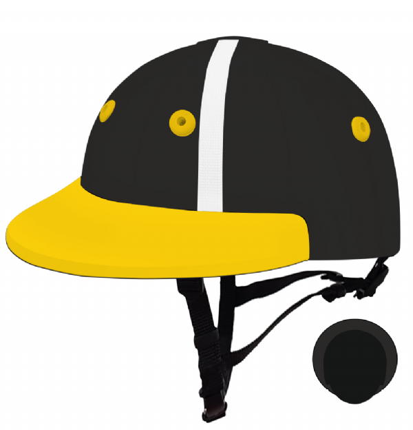 English Peak Style Helmet Polo. (x 1) (78319864-f13142hv)